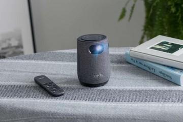 华硕推出ZenBeamLatte便携式投影仪可调整屏幕尺寸
